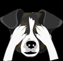 dog see no evil crop